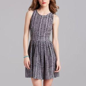 Joie Bernadine Snake Ikat Print 100% Silk Dress